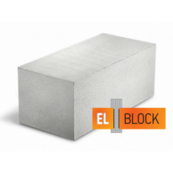 Блок газобетонный El-Block 600*250(200)*200 D400