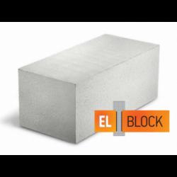Блок газобетонный El-Block 600*250(200)*250 D500