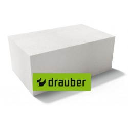 Газобетонный Блок Drauber 600*200(250)*250 D500