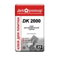 КЛЕЙ ДЛЯ КЕРАМИЧЕСКОЙ ПЛИТКИ «ДЕКОРАТОР» DK 2000