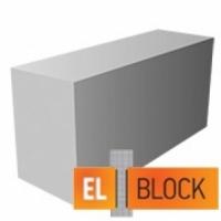 Блок газобетонный El-Block 600*250(200)*150 D500